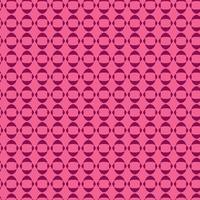 plantilla de diseño de patrón geométrico círculo rosa