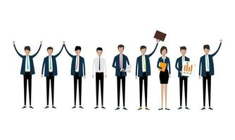 Collection of Professional Business People
