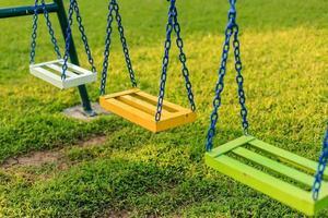 Chain swing.