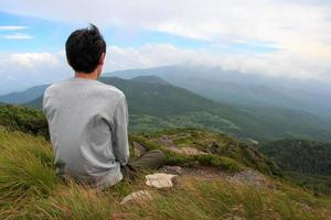Zen meditation photo