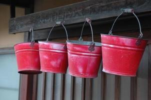 Fire Buckets, Japan photo