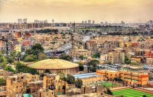 Vista de El Cairo desde la ciudadela - Egipto foto