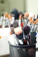 makeup brushes photo