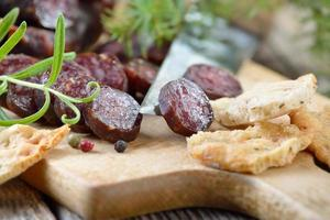 Cured sausages