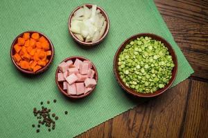 Pea Soup Ingredients photo