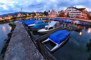 petite ville de richterswil en suisse