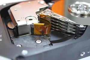 disco duro del servidor foto
