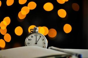 Pocket watch. symbols of time