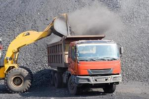 Open-pit Mine with Earth Move photo