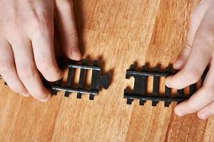 Assembling the railway