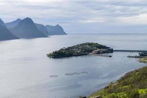 Husoy, fisheman village in the north of Norway