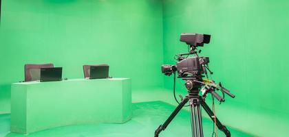 Television studio photo