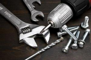 Nuts, bolts and tools photo