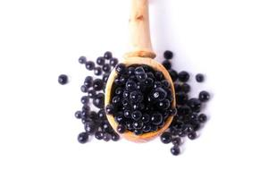 caviar in a spoon