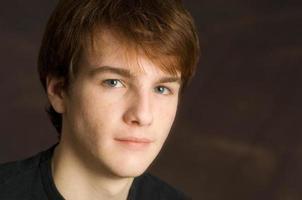 retrato masculino joven foto