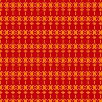 padrão vermelho e amarelo vetor