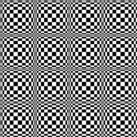 Seamless checkerboard pattern vector