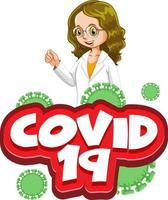 ''COVID-19'' with Female Doctor
