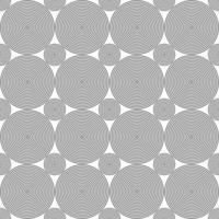 Seamless black concentric circles  dot pattern