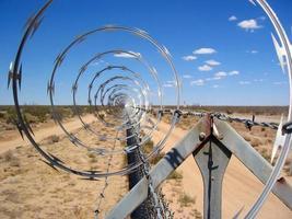 Razor Wire Fence photo