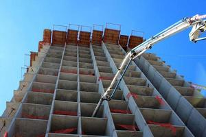 Concrete Highrise Construction Site photo