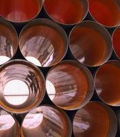 tubos de drenaje foto