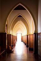 lumière de l'église