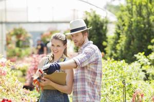 jardineros foto
