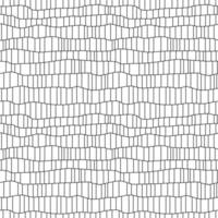 Abstract black grid line seamless pattern vector
