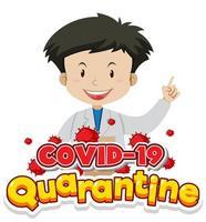 Happy quarantine doctor