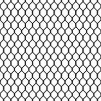 Black chain link seamless pattern vector