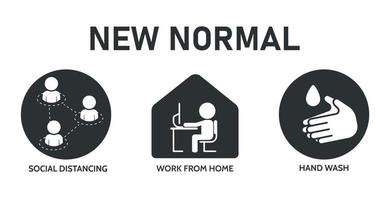 Black, White ''New Normal'' Icons