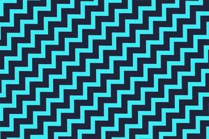 patrón de zigzag azul vector
