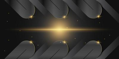 Abstract geometric luxury background vector