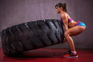 Excersise With Tire