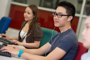 estudiante moderno foto