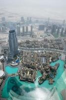 View from Burj Khalifa Dubai photo