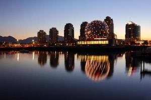 False Creek Morning Reflections, Vancouver photo