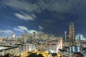 paisaje urbano de hong kong foto