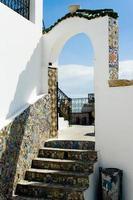 Arabic architectural arch, Tunisia photo