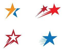 conjunto de iconos de vector de estrella