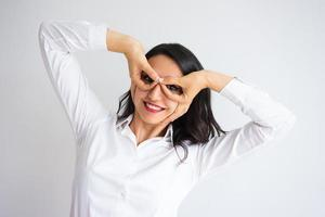 Playful Business Woman photo