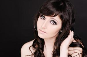Attractive young woman photo