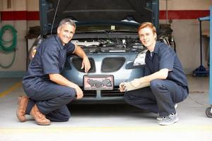 Mechanics at work photo
