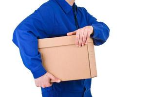 Delivery man. photo