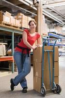 Warehouse worker photo