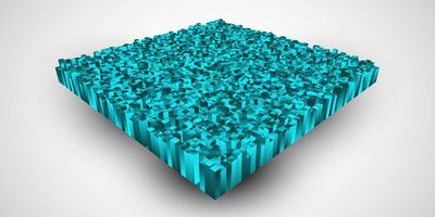 Abstract isometric background
