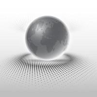 Abstract globe background