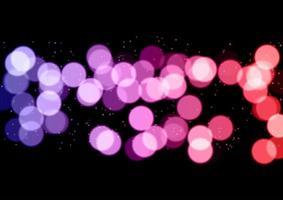 Decorative bokeh lights background vector