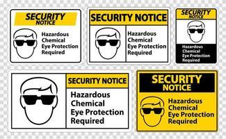 avviso di sicurezza segno simbolo pericoloso